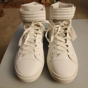 Topman high top sneakers
